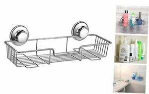 ARCCI Powerful Suction Cup Shower Caddy, Bath Shelf Storage Combo Organizer Bask