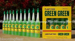 20 bottles GREEN GREEN Lucky Bamboo Plant Food FERTILIZER plant use NEW