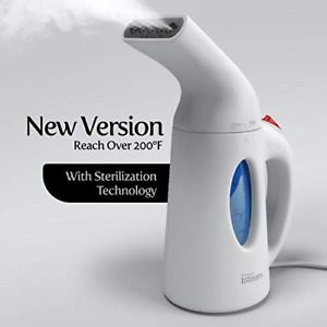 iSteam Steamer for Clothes [Home Steam Cleaner] Powerful Travel Steamer 7-in-1.