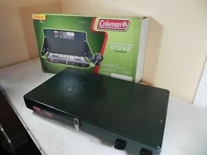 Coleman Gas Camping Low Stove Propane Stove 2 Burner