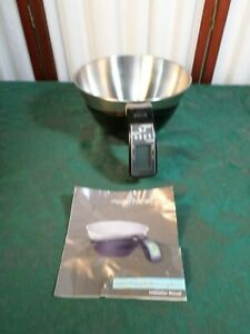Modernhome Battery Operated Digital Mixing Measuring Bowl w Instructions