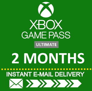 XBOX LIVE GAME PASS Ultimate 3 Months 6 x 14 Day 84 Days LIVE GOLDGAMEPASS $17.49