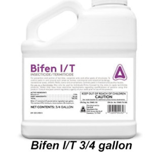 3 4 Gallon Bottle of Bifen I T Bifenthrin 7.9% Insecticide Termiticide