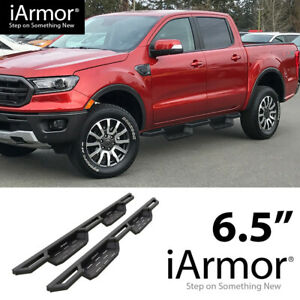 iArmor 6.5quot; Drop Steps Side Armor Square for 19 20 Ford Ranger SuperCrew Cab $295.00