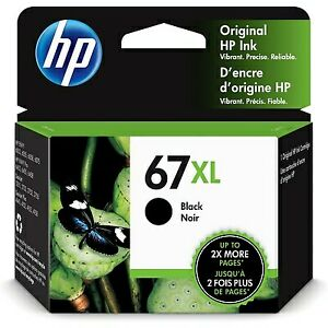 HP 67XL High Yield Black Original Ink Cartridge