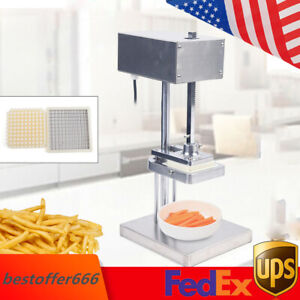 Commercial Electric Potato French Fry Potato Cutter Slicer Chopper 3 Blade Mold
