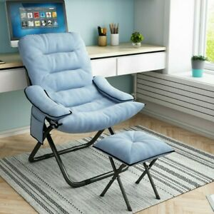 Folding Sleeper Flip Chair Convertible Sofa Bed Lounge Couch Pillow 3 Position
