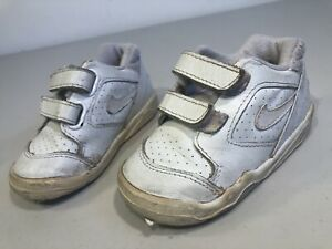 Nike Baby Shoes Size 4.5 White Sneakers $5.99