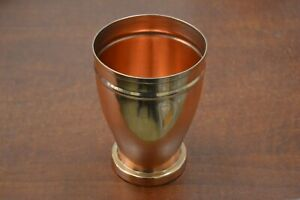 HANDMADE GENUINE COPPER DRINKING GLASS CUP #11077