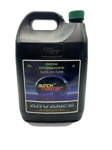 Dutch Master Grow Croissance Advance Nutrician Plant 5L 1.32Gal $77.00
