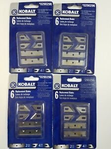 Kobalt 6 pack Replacement Blades for Edge Trimmer 290296 NEW Lot of 4