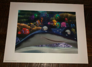 Finding Nemo Lithograph Disney 2003 Movie $9.00