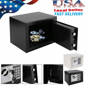 Home Safe Box Cash Gun Jewelry Security Cabinet Electronic Digital Keypad amp; Key $26.89