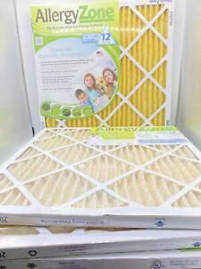 Allergy Zone 20x20 Furnace Filter Qty 4