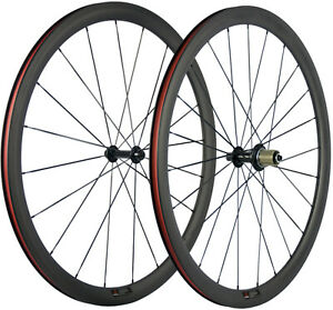 38mm Carbon Wheels 25mm U Shape Tubeless Road Bike Wheelset 700C 3K Matte Basalt $370.00