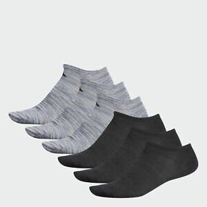 adidas Superlite No Show Socks 6 Pairs Men#x27;s