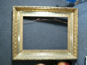 Antique Victorian Painting Frame Original Gold finish $350.00