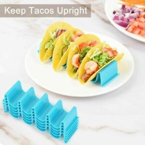 2Pcs Taco Holder Mexican Food Wave Shape Hard Rack Stand Kitchen Baking Tool