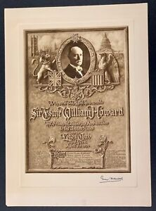 Souvenir Event Menu DINNER To The RIGH HONOURABLE SIR ESME WILLIAM Signed 1st $258.75