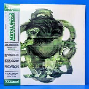 Metal Gear Solid MGS Video Game Vinyl Record Soundtrack Green White 2 x LP $74.95