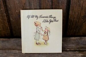 Vintage Of all my favorite things I like you best pocket book for little girls $3.00
