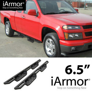 iArmor 6.5quot; Drop Steps Side Armor Square for 99 07 Silverado Sierra Extended Cab $330.00