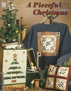 A Pieceful Christmas 1996 Retta Warehime Quilted Sewing Projects for Christmas $8.10