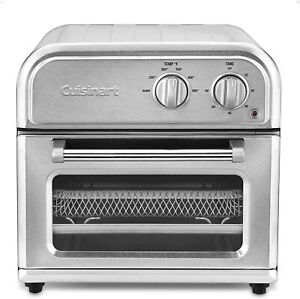 Cuisinart AFR 25FR Compact Air Fryer Brushed Stainless Steel Recertified $79.50