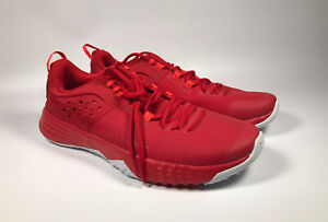 Mens Red Under Armour BAM Training Shoes Size 10.5 3020790 $49.99