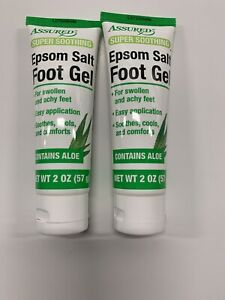2 Epson Salt Foot Cream Swallon And Itching Foot $9.00