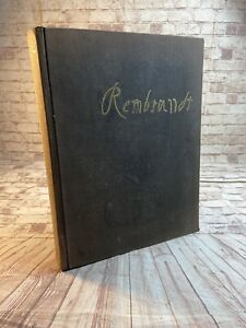 Rembrandt Etchings and Drawings 1963 VV Stech Illustrated HC DJ $11.69