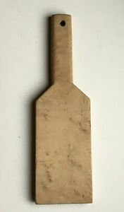 Antique vintage kitchen bread chopping cutting board wood wooden Barware 13 x 4quot;