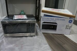 GE 2.0 Cu. Ft. Full Size Microwave Oven Stainless Steel COUNTERTOP Style. NEW