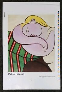 23quot; x 30quot; Woman with Yellow Hair Pablo Picasso Guggenheim 2004 Lithograph Poster $19.99