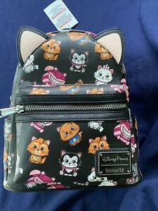 Disney Parks Exclusive Disney Cats Mini Backpack by Loungefly NEW As Pictured $98.99