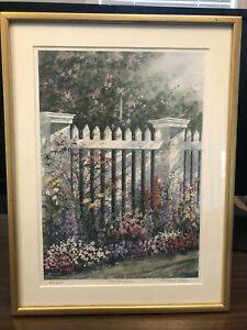 Denise Patchell Olson Vintage Framed Signed and Numbered Art $149.99