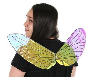 Holographic Costume Insect Bee Fly Wings for Adults and Kids