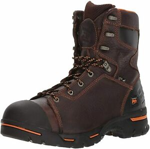 TIMBERLAND PRO 52561 Endurance 8quot; Puncture Resistant Brown Men#x27;s Work Boots