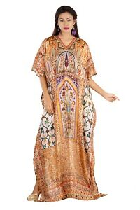 Ready to wear designer dresses printed caftans plus size beach caftan