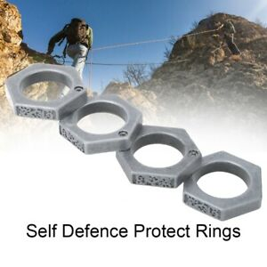 Self Defence Protect Rings Finger Breaker Emergency Rescue Survival Tool