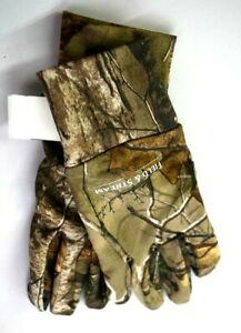 Field amp; Stream Every Hunt C3 No Scent Hunting Glove Small Camouflage Camo NWT