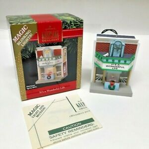 Hallmark Keepsake Ornament 1991 It#x27;s a Wonderful Life Magic Theater Lights