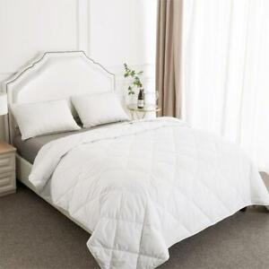 White Soft All Season Goose Down Comforter Lightweight Duvets Inset King Size $29.99