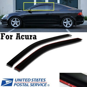 For 2002 2006 Acura RSX 2 Door Coupe DC5 JDM Style Window Visors Rain Guard $26.39