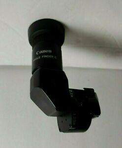 Canon Angle Finder C 1.25X 2.5X with Case and Adapters Pre Owned $42.99
