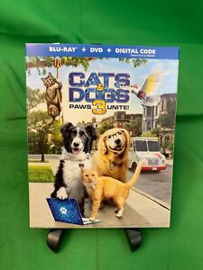 Cats and Dogs 3 Paws Unite Bluray DVD Digital with Slipcover $15.00
