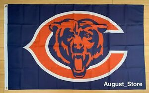 Chicago Bears Flag 3x5 ft Banner NFL