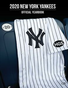 2020 New York Yankees Official Yearbook Limited Edition Print PRESALE NO STICKER