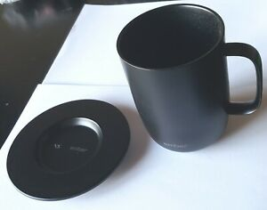 USED Ember Temperature Control Ceramic 14oz Mug with Saucer but NO POWER CORD $55.99