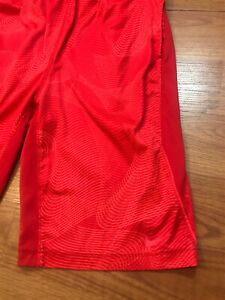 Nike Dri Fit Shorts Boys Youth XL Red SEE PICTURES $9.09